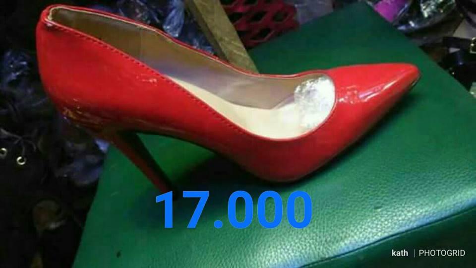 Chaussure talon rouge